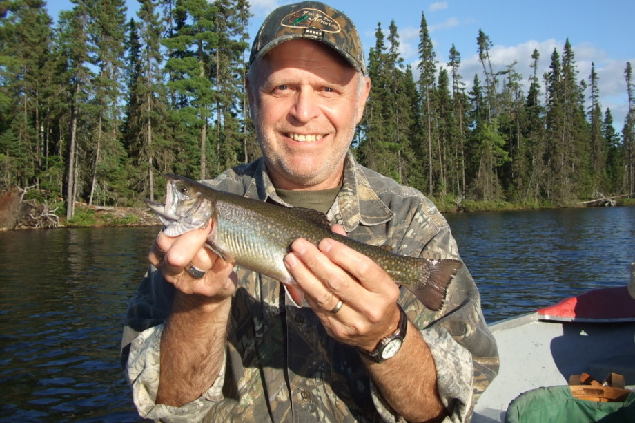 Brook Trout Fishing in Quebec