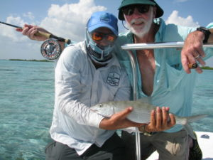 Fly fishing in Cuba for Bonefish