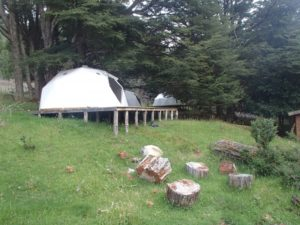 Geodesic Domes in Chile